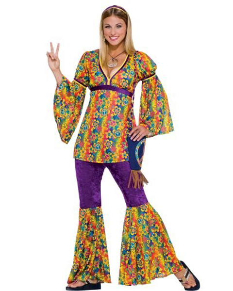 Teen Hippie Chick Costume