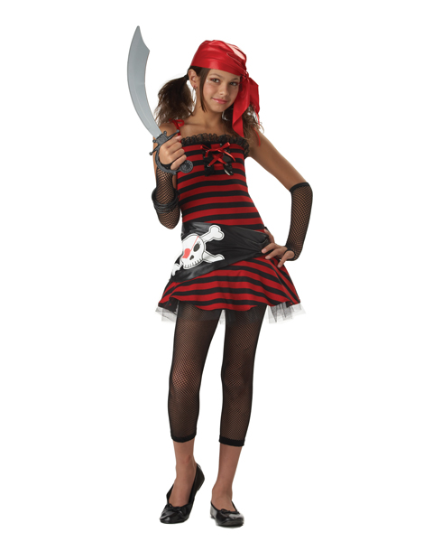 Pirate Cutie Costume for Tween