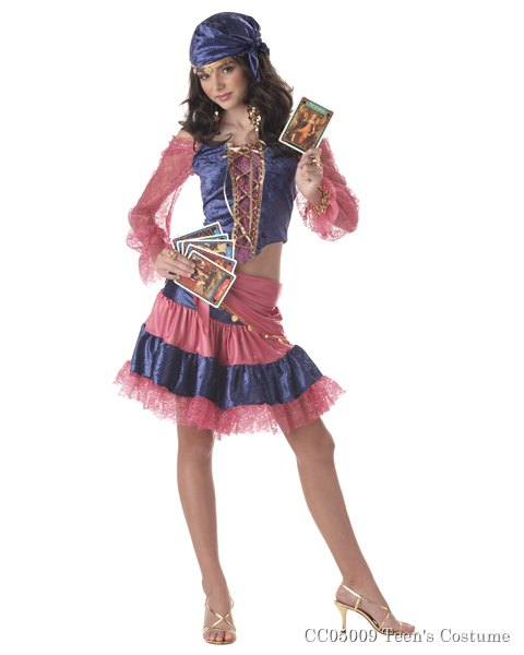 Diva of Destiny Circus Costume for Teen
