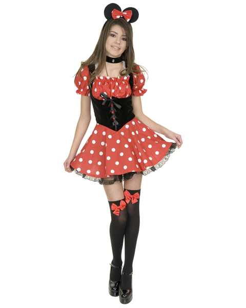 Little Miss Mouse Costume for-Teen