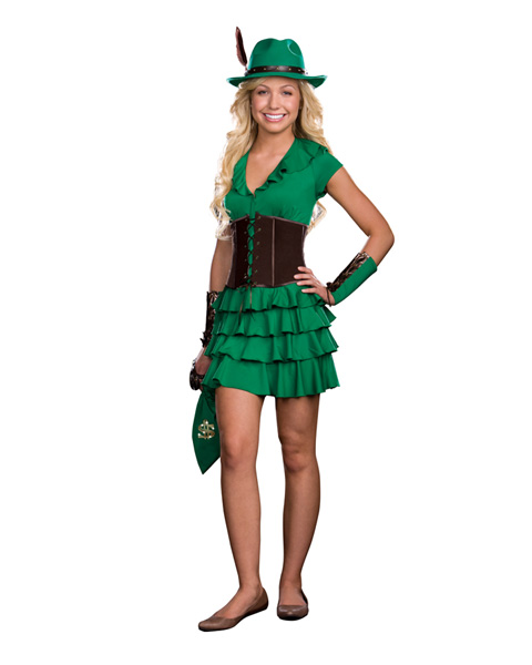 Teen Robyn da Hood Costume - Click Image to Close