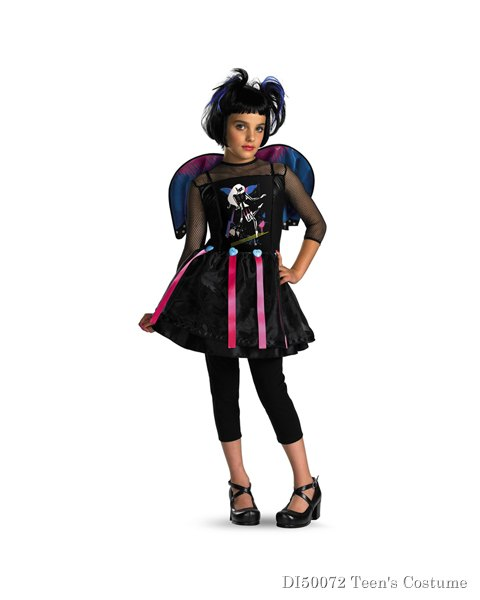 Girls Pop Fairy Costume