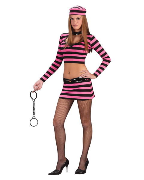 Teen Innocent Prisoner Costume