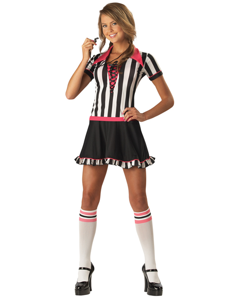Teen Sassy Referee Costume