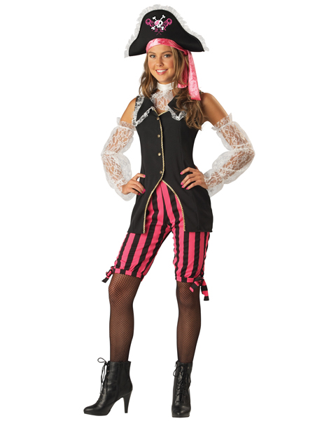 Teen Sassy Pirate Costume