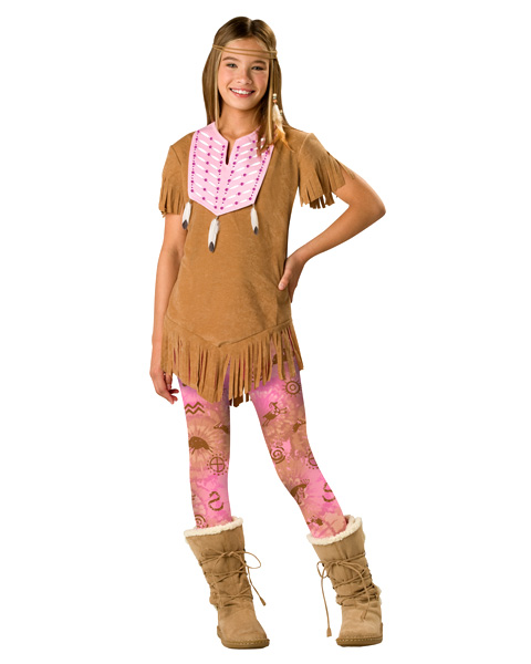 Tween Sassy Indian Maiden Costume