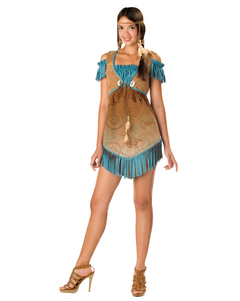 Cheeky Teen Cherokee Costume