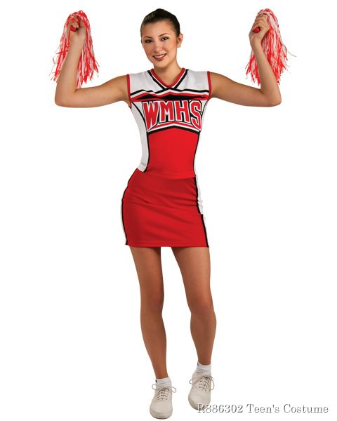 Glee Cheerleader Teen Girls Costume