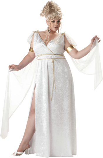 Athenian Goddess Adult Plus Costume