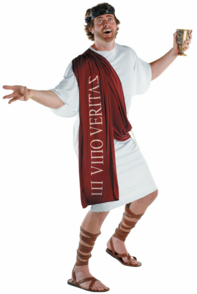 Dionysus - The God of Wine Adult Costume