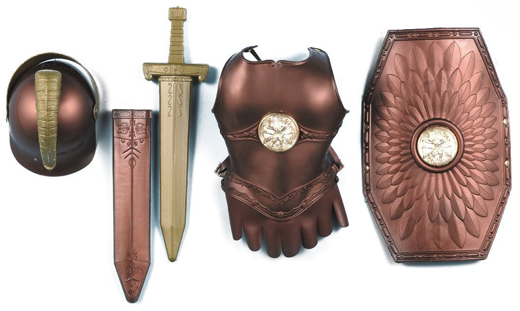 Roman Armor Child Costume Kit