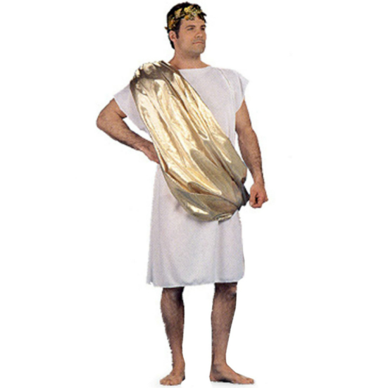 Toga Male Adult Costume