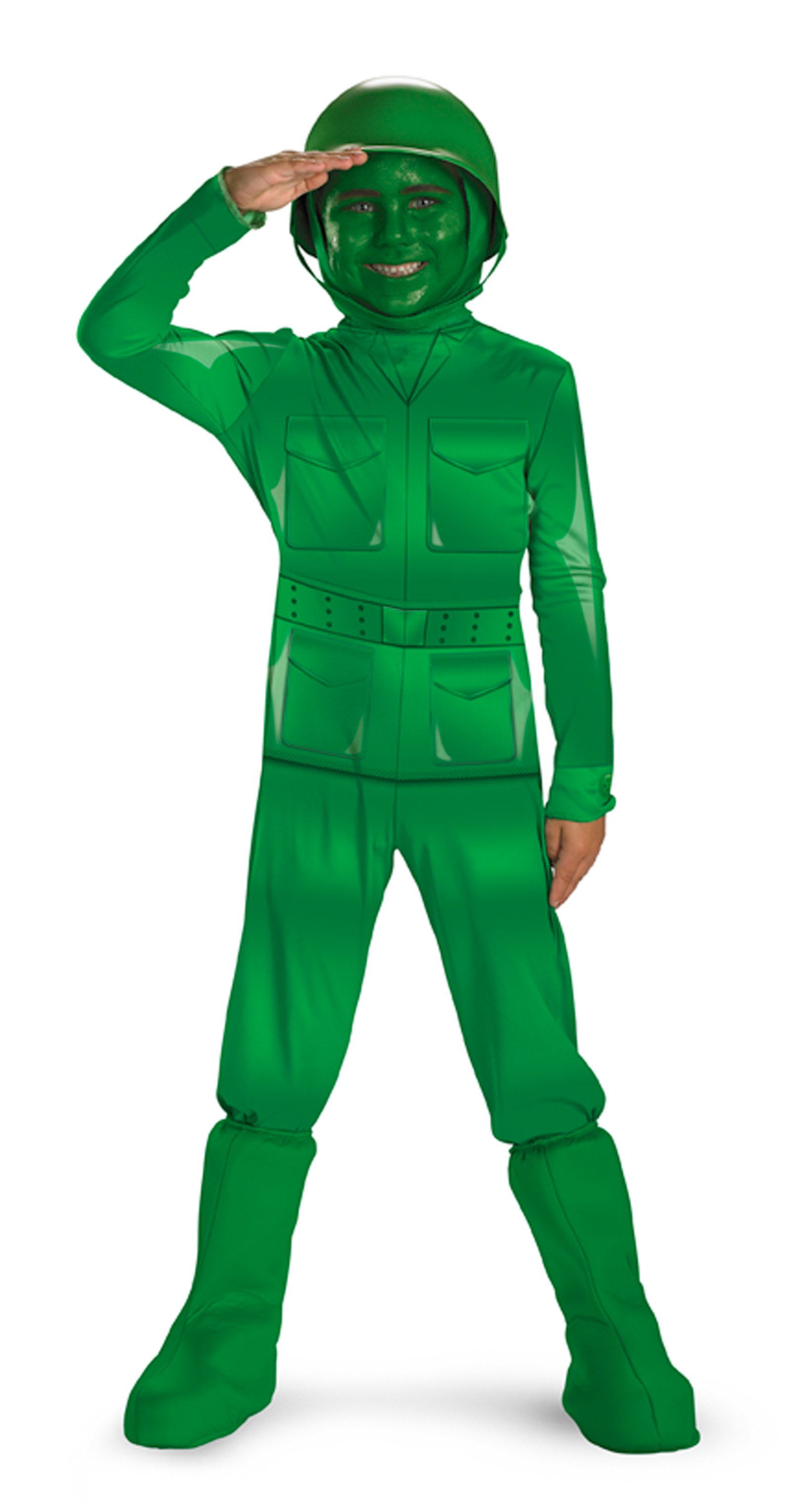 Toy Story - Green Army Man Deluxe Toddler / Child Costume