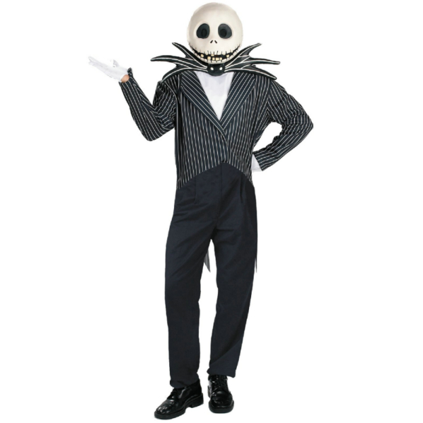 The Nightmare Before Christmas Jack Skellington Deluxe Adult Cos