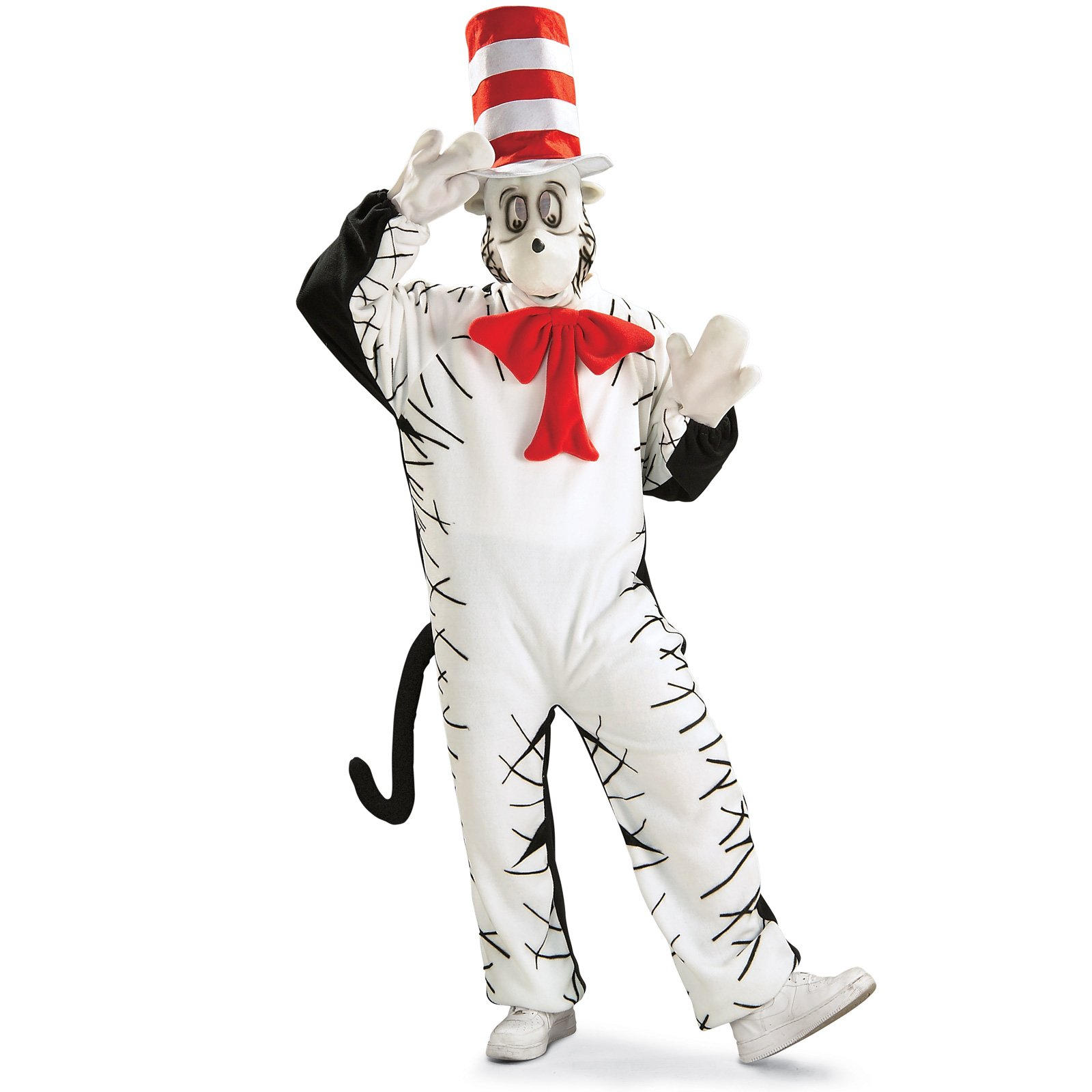Dr. Seuss Cat In The Hat Mascot Adult Costume
