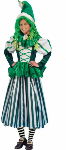 Deluxe Munchkin Woman Adult Costume