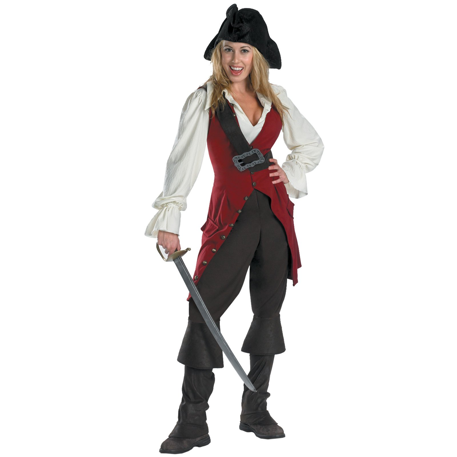 Pirates of the Caribbean 3 Elizabeth Pirate Deluxe Adult (2007)