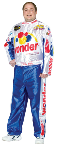 Talladega Nights Ricky Bobby Adult Plus Costume