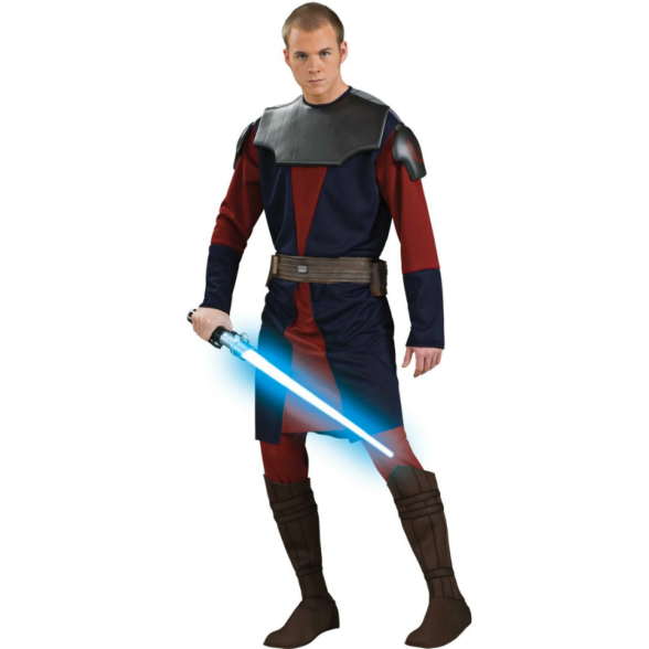 Star Wars Clone Wars Deluxe Anakin Skywalker Adult Costume