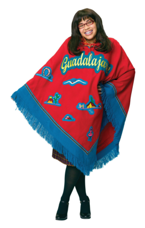 Ugly Betty Poncho Adult Costume