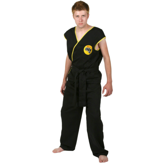The Karate Kid-Cobra Kai Deluxe Adult Costume