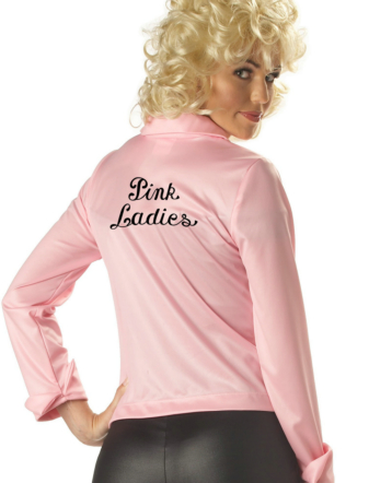 Pink Ladies Jacket Adult Costume
