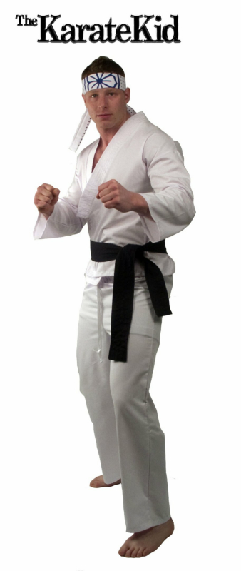Karate Kid Daniel-San Replica Gi Adult Costume