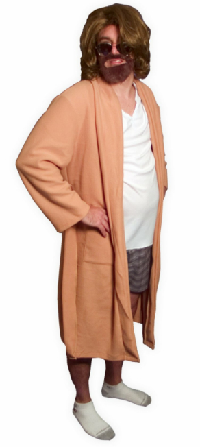 The Big Lebowski The Dude Bath Robe Outfit Adult Costume