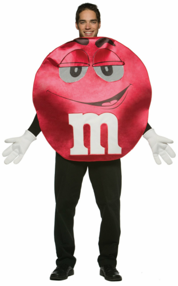 M&Ms Red Deluxe Teen Costume