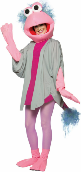 Fraggle Rock Mokey Adult Costume