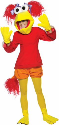 Fraggle Rock Red Adult Costume