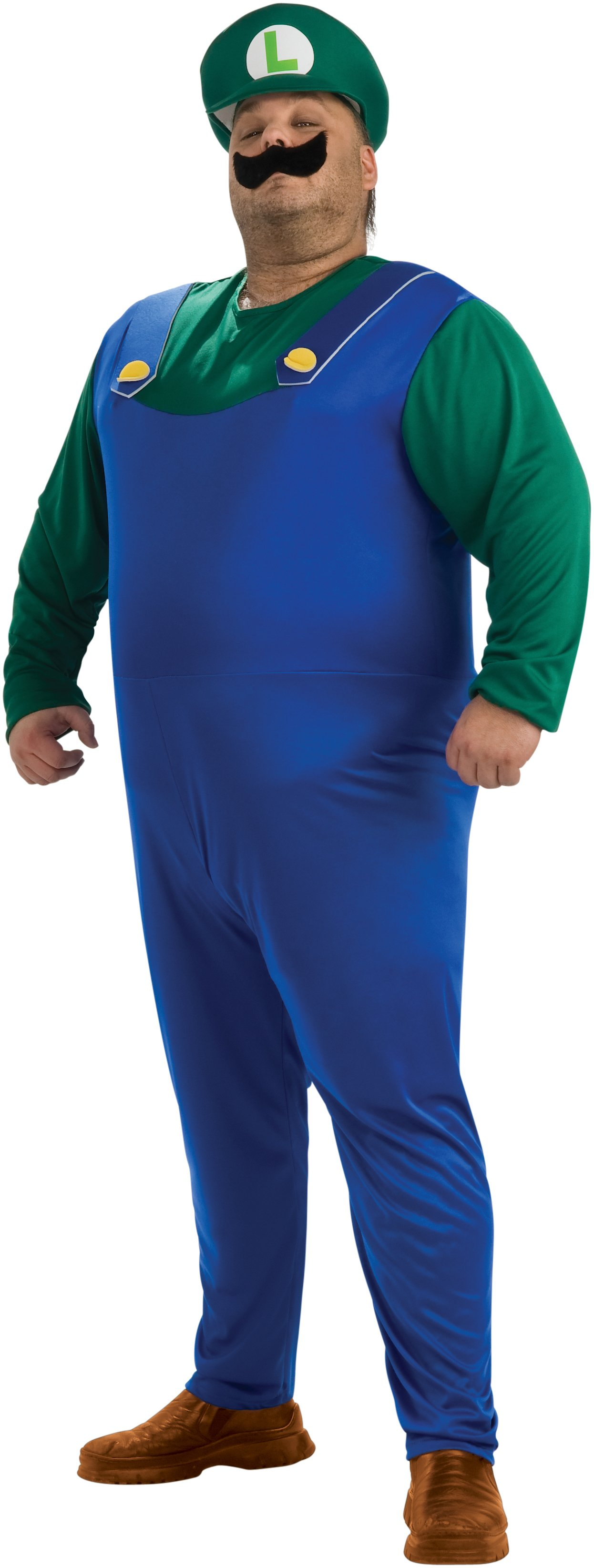 Super Mario Bros. - Luigi Adult Plus Costume
