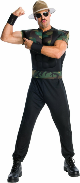 WWE - Sgt. Slaughter Adult Costume