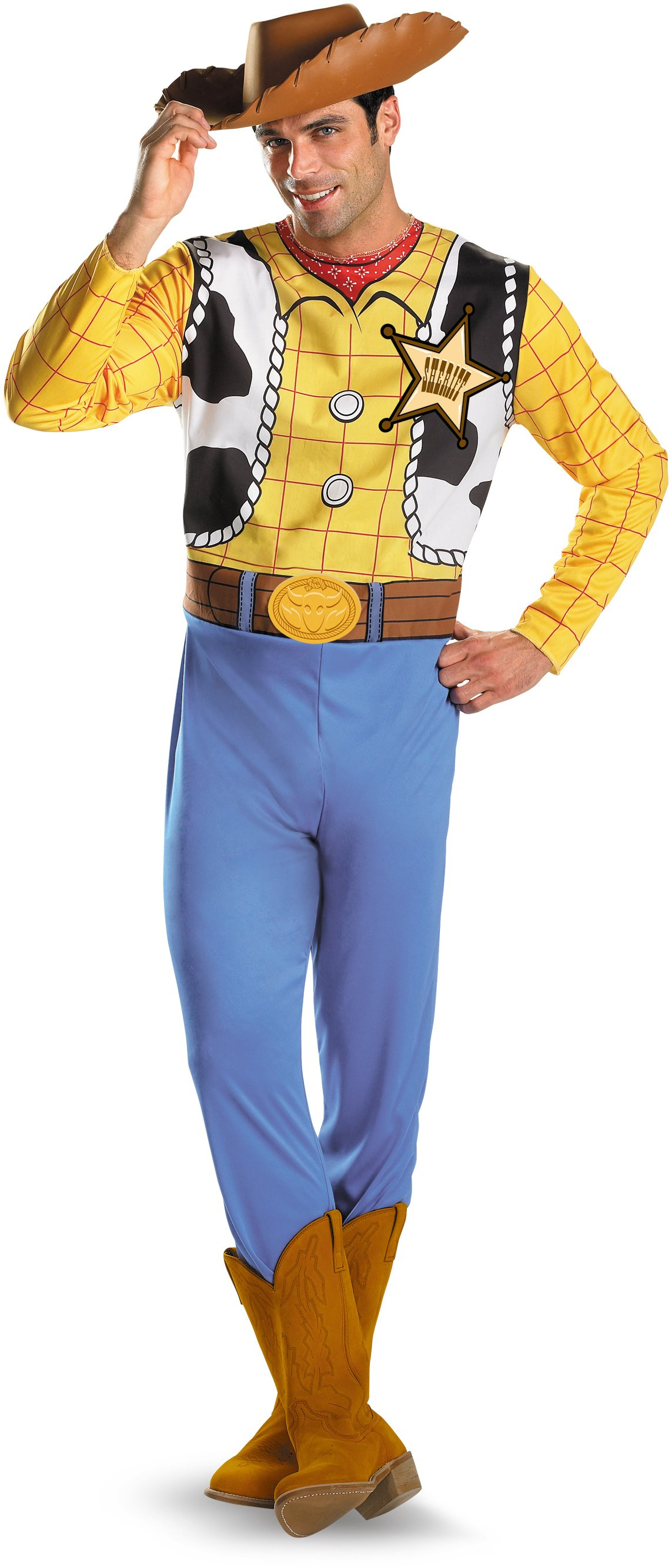 Toy Story - Woody Classic Plus Adult Costume