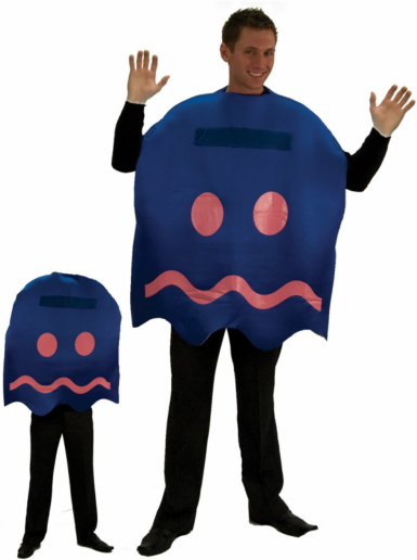 Pac-Man Power Pellet Ghost Adult Costume