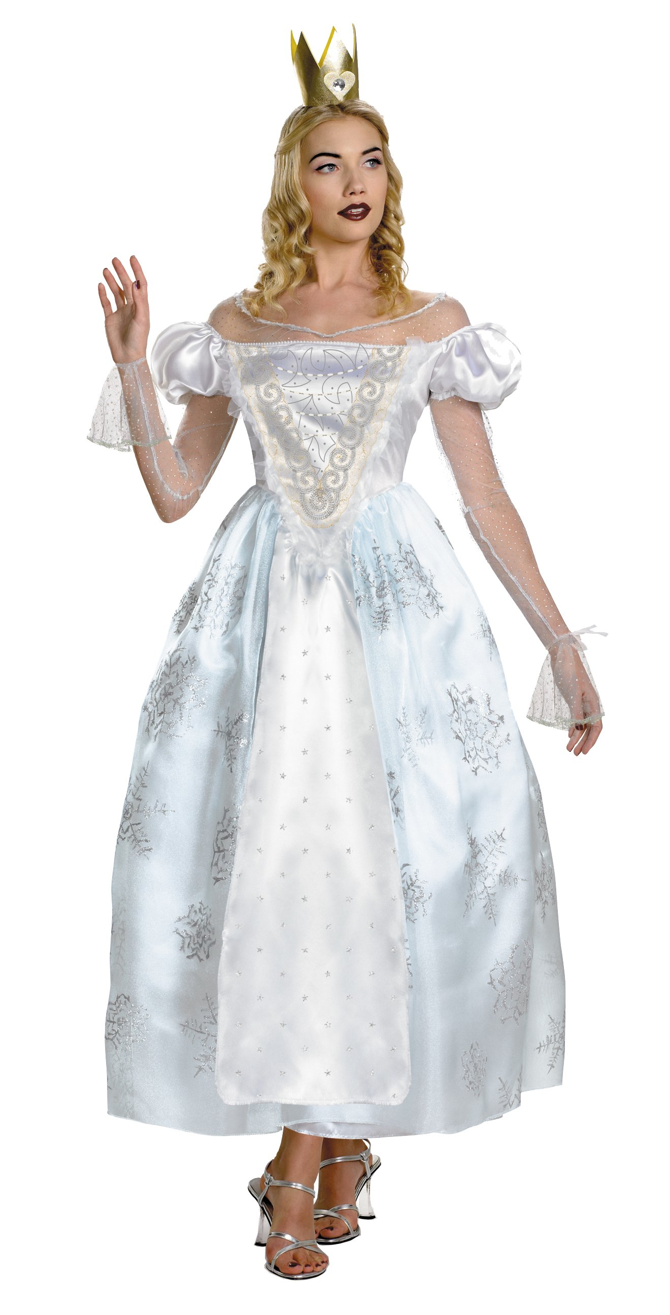 Alice In Wonderland - White Queen Deluxe Adult Costume