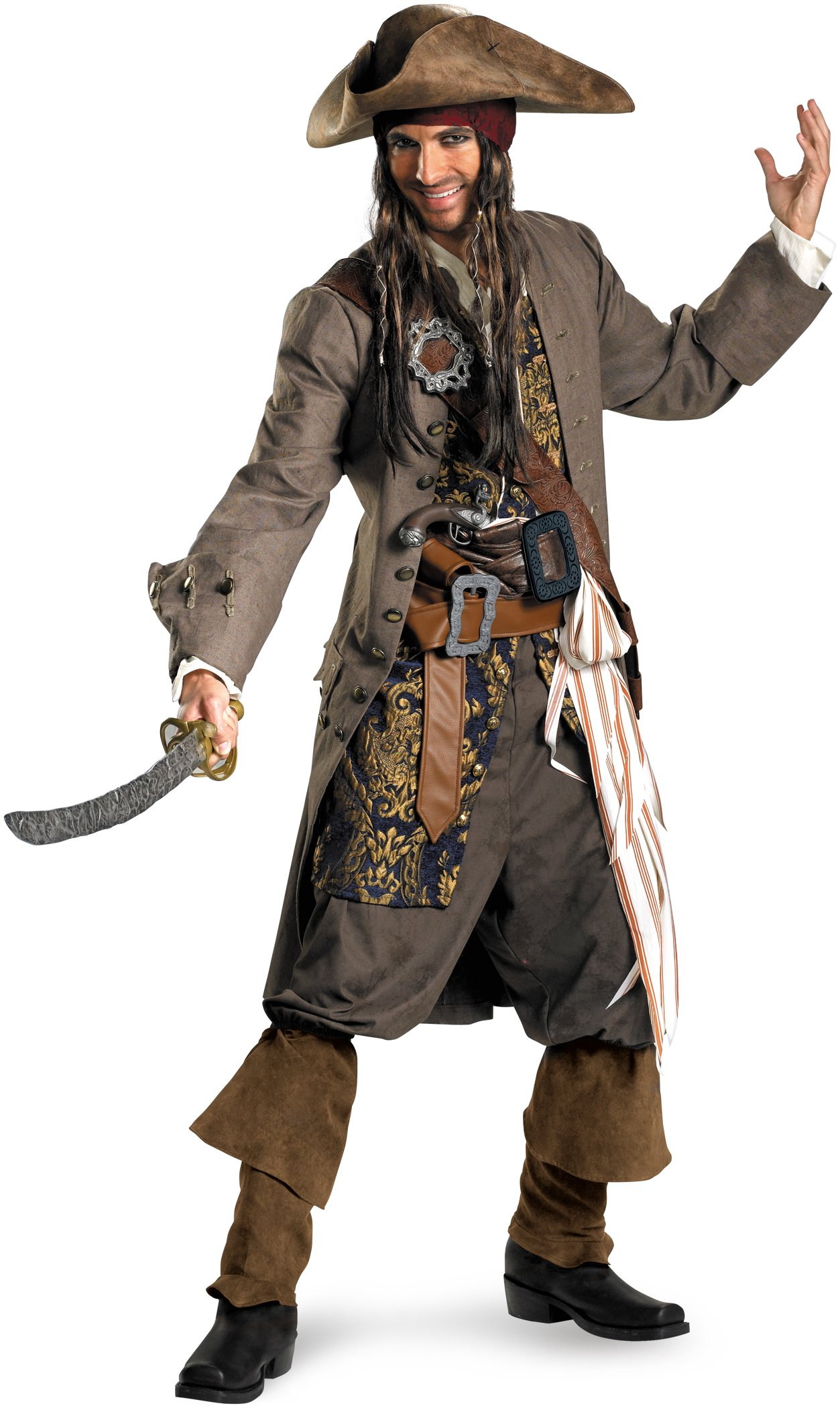 Pirates Of The Caribbean - Captain Jack Sparrow Theatrical Teen