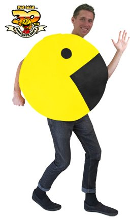 Pac-Man 2D Profile Adult Costume