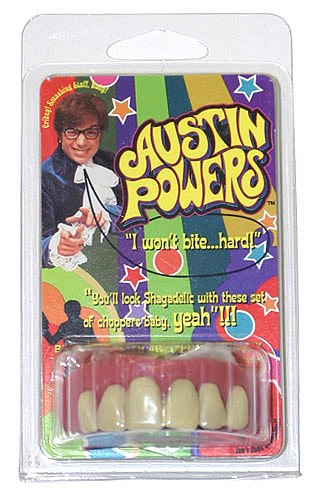 Austin Powers Faux Teeth