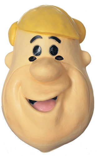 Rubber Barney Rubble Mask