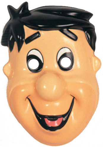 Fred Flintstone Adult PVC Mask