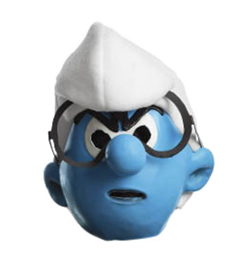 Brainy Smurf Mask