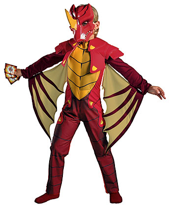 Kids Deluxe Dragonoid Costume