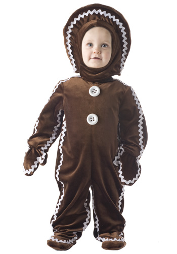 Childrens Gingerbread Man Costume