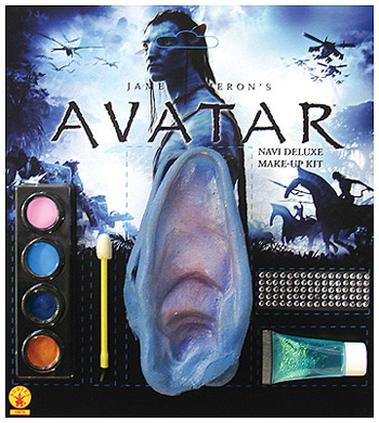 Deluxe Avatar Na'vi Makeup Kit