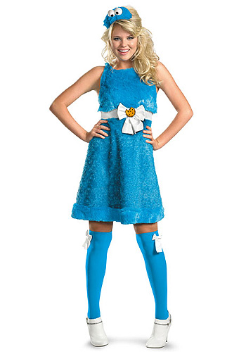 Sexy Cookie Monster Costume