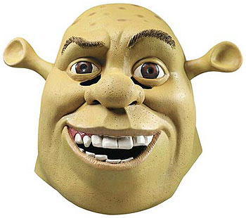 Deluxe Shrek Mask