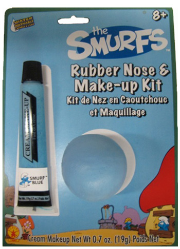 Smurf Nose and Makeup Kit