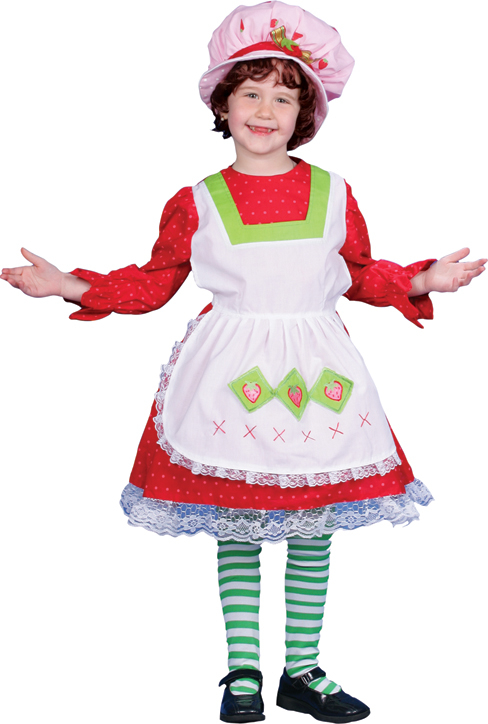 Country Strawberry Girl Child Costume