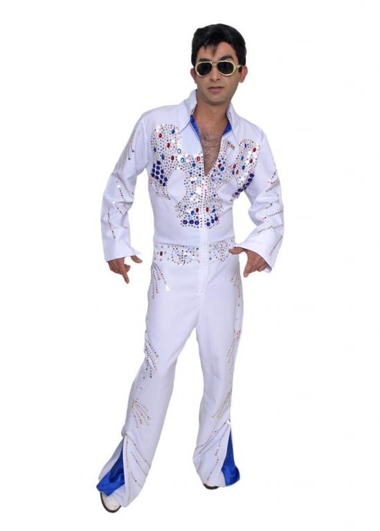 Rock Legend Impersonator Adult Costume